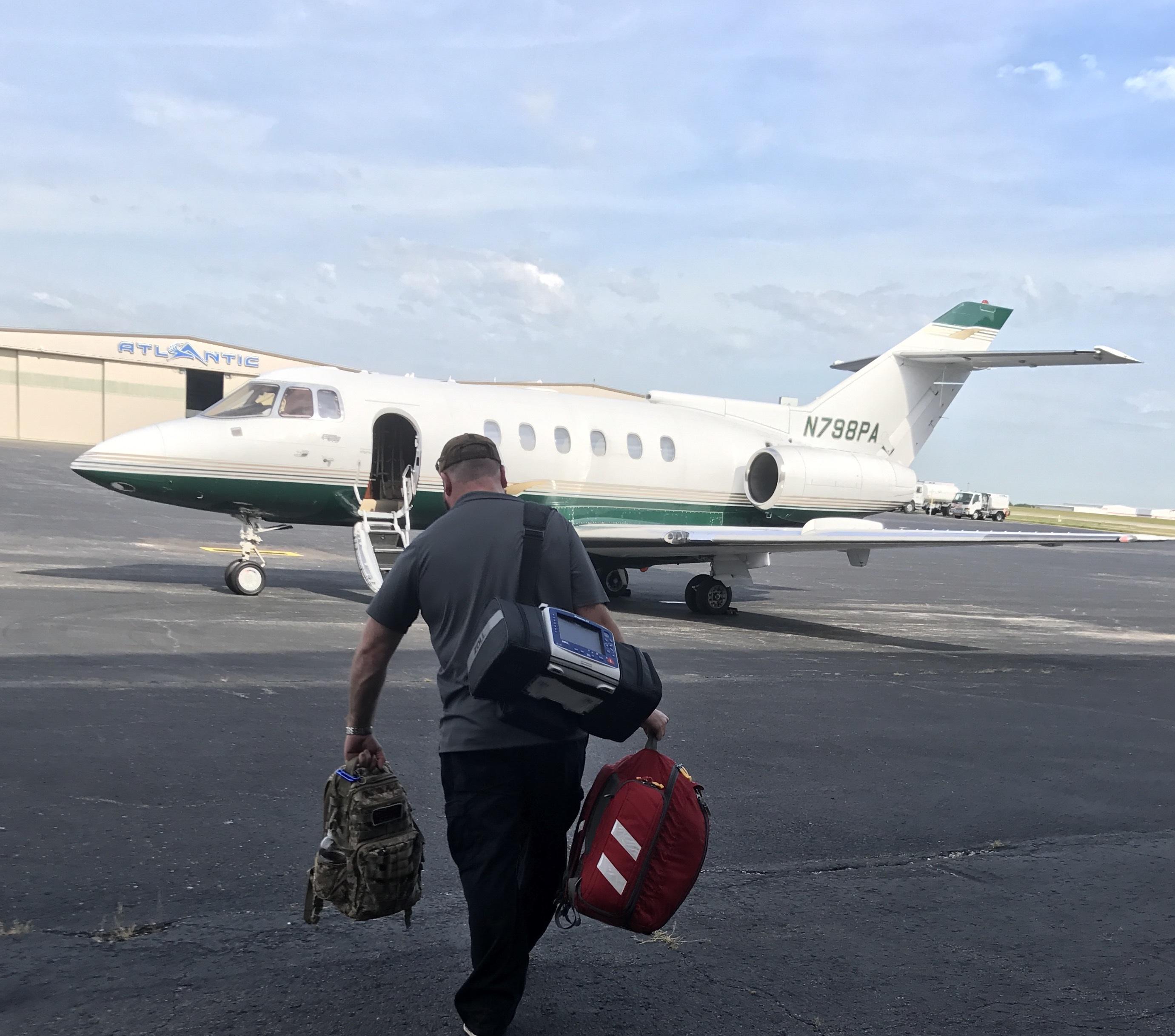 Employment in flight medicine